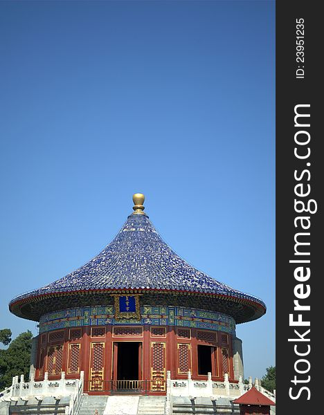 Temple of heaven temple,beijing,china