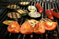 Free Vegetables On The Grill Royalty Free Stock Photography - 23960877