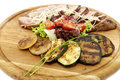 Free Grilled Vegetables And Meats Stock Photos - 23960883