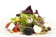 Free Greek Salad Royalty Free Stock Photo - 23960885
