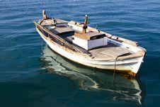 Free Fishing Boat Royalty Free Stock Image - 23964426