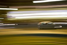 Free Motion Blurred Car Royalty Free Stock Photo - 23964685