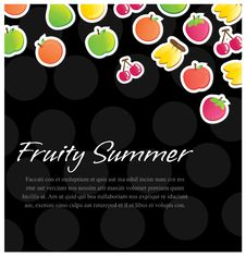 Free Fruity Background Royalty Free Stock Photos - 23964708