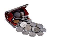 Free Coins Purse Royalty Free Stock Photos - 23967058