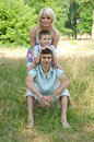 Free Portrait Of Happy Family. Royalty Free Stock Photography - 23974607
