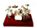 Free Drum Toy Figure Royalty Free Stock Photography - 23979837