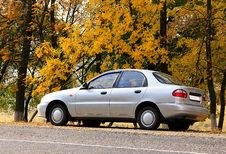 Free Autumn Pit Stop Royalty Free Stock Images - 23970449