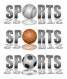 Free Sports Logos Stock Photos - 23973453