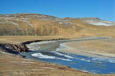 Free Qinghai-Tibet Plateau Rivers Stock Photography - 23973752