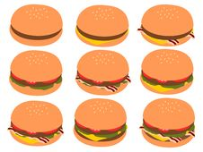 Free Burgers Stock Images - 23973814