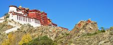 Free Potala Palace In Lhasa, Tibet, China Royalty Free Stock Image - 23973936