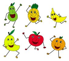 Free Fruit People Royalty Free Stock Photography - 23973947