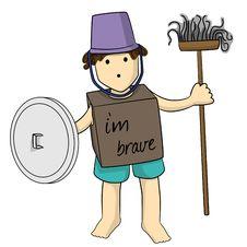 Free Gladiator Boy Royalty Free Stock Image - 23973956