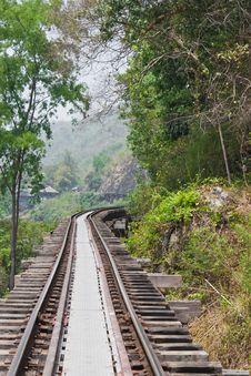 Free Old Railway. Stock Image - 23974221