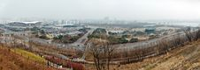 Free Panoramic View Of Seoul Royalty Free Stock Photo - 23974265