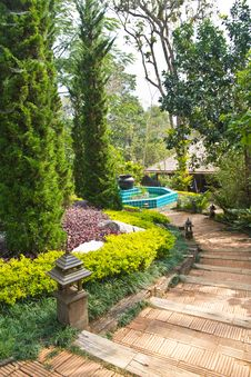 Free Park Resort Royalty Free Stock Photo - 23978475