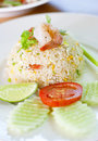 Free Shrimp Fried Rice Stock Image - 23985081