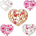 Free Jewelry Hearts Royalty Free Stock Photography - 23987907