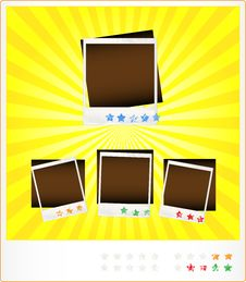 Free Set Template Old Photoframeworks Stock Photos - 23980693