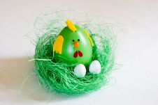 Free Colorful Easter Decoration Stock Image - 23981311