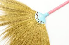 Free Colorful Broom Royalty Free Stock Photos - 23981858