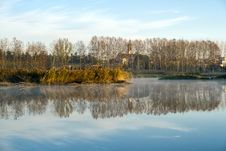 Free Lake Sils, Spain Barcelona, Panoramic Photography Royalty Free Stock Photo - 23983905