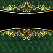 Free Green Vintage Background Royalty Free Stock Photos - 23985698