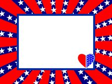Free 4th July Card Stock Photography - 23988542
