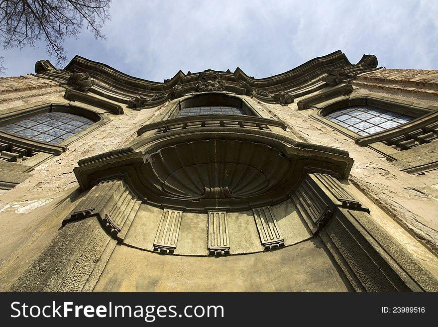 Holy trinity church in rychnov