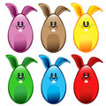 Free Bunny Eggs Royalty Free Stock Images - 23990769