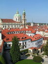 Free Prague Rooftops Stock Photography - 23996482