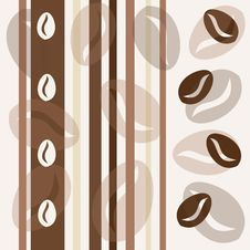 Coffee Seamless Background Royalty Free Stock Photo