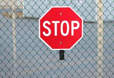 Free Stop Sign Royalty Free Stock Photo - 23998005