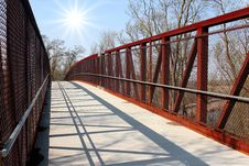 Free Pedestrian Bridge Stock Images - 23999844