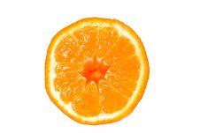 Free Half An Orange Stock Photography - 240042