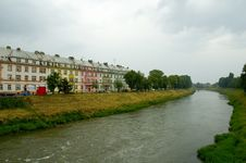 Free Houses By River Stock Photos - 240313