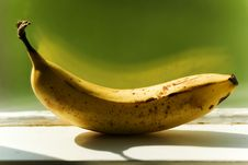 Free Banana On Ledge Stock Photos - 240473