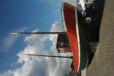 Free Fishing Schooner Royalty Free Stock Photography - 240487