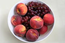 Free Grapes And Peaches Stock Photos - 240603