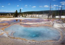 Free Hot Spring Stock Photography - 241642