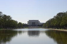 Free Lincoln Memorial Royalty Free Stock Photos - 242438