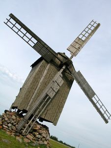 Free Old Windmill Stock Photos - 242853