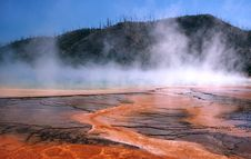 Free Grand Prismatic Hot Spring Royalty Free Stock Image - 243176