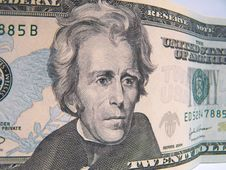 Free Twenty Dollar Bill Royalty Free Stock Photo - 243655