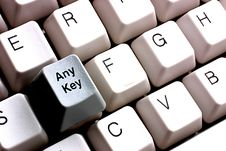 Free Press Any Key Stock Images - 244054