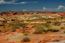 Free Valley Of Fire Royalty Free Stock Photos - 245118