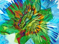 Free Flower Art Royalty Free Stock Photography - 245507