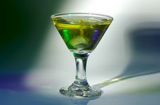 Free Martini Glass Royalty Free Stock Photography - 247047