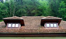 Free Roof Windows Royalty Free Stock Image - 248546