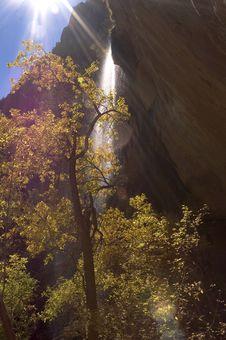 Free Autumn Waterfall Stock Photos - 249263